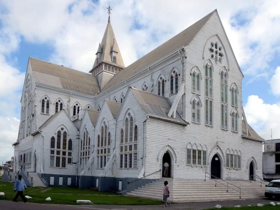 Visita la Catedral Anglicana de San Jorge en Georgetown