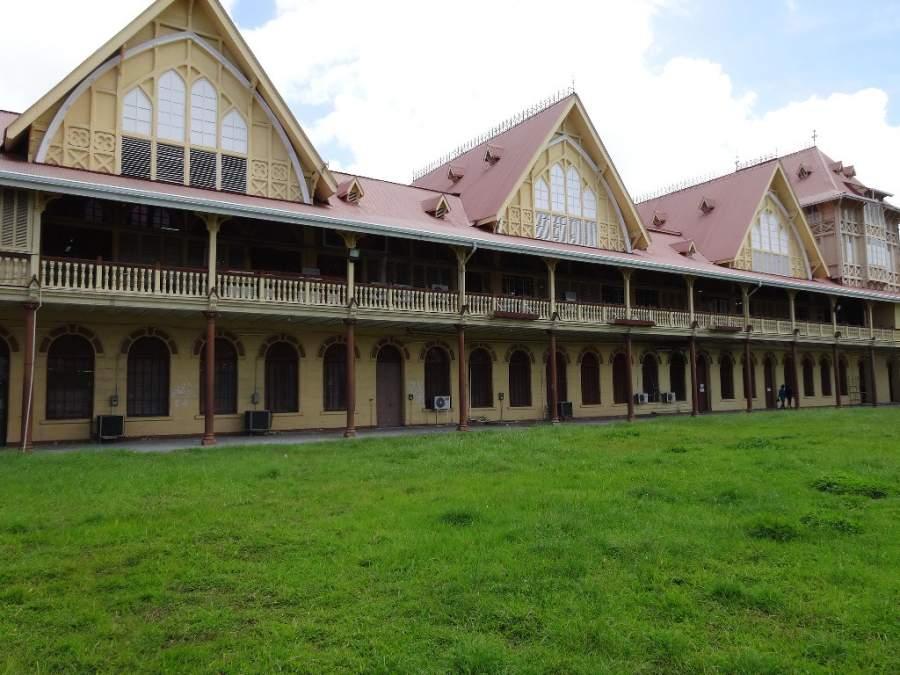 Georgetown es la ciudad más grande de Guyana