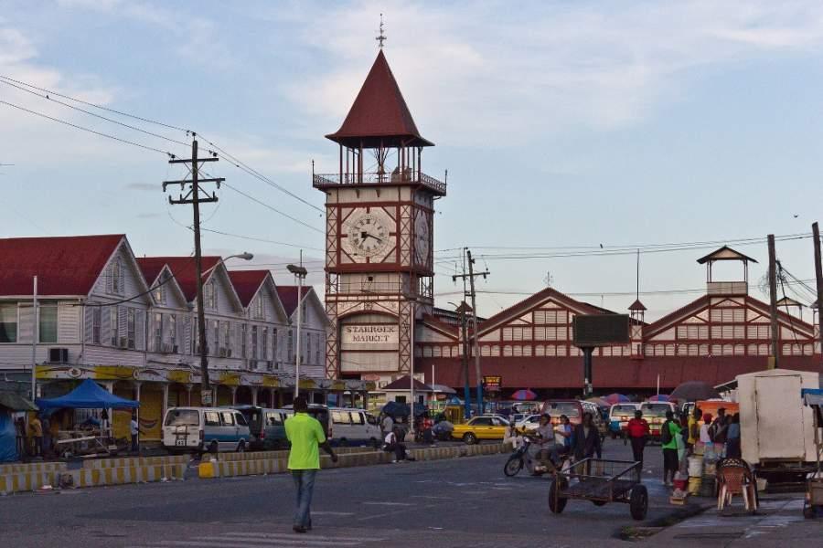 Conoce el mercado Stabroek en Georgetown