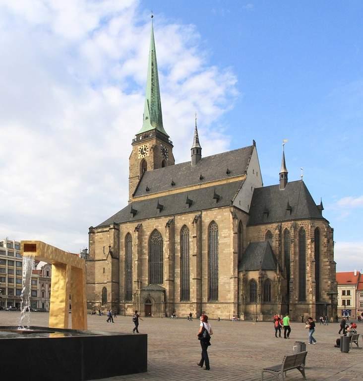 Arquitectura de la Catedral de St Barth