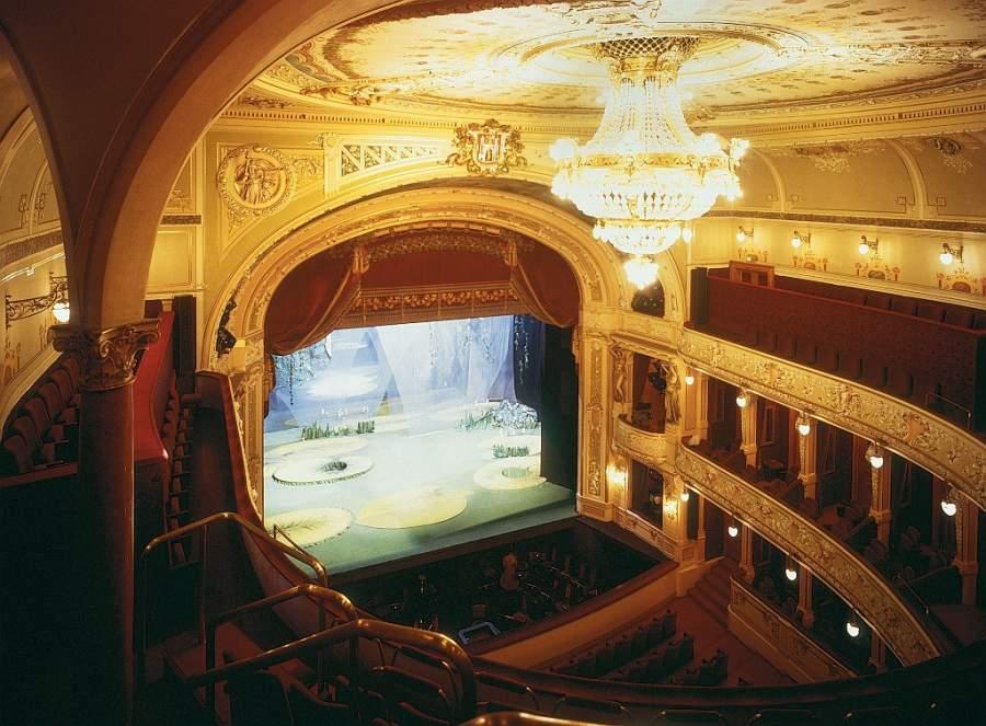 Interior del Teatro Josef Kajetán Tyl en Pilsen