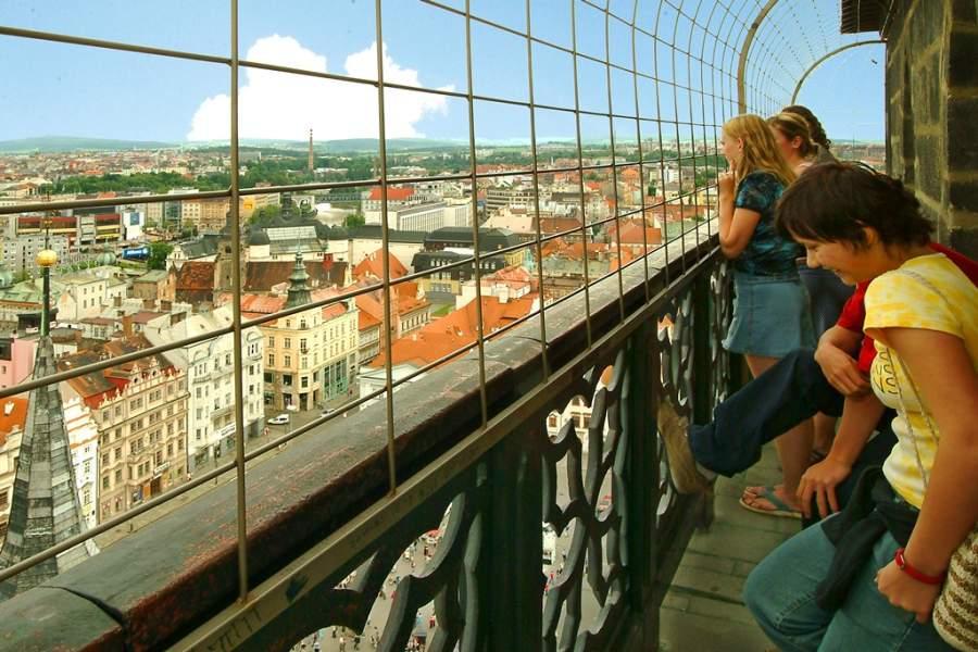 Sube a una de las torres de Pilsen y disfruta de la hermosa vista