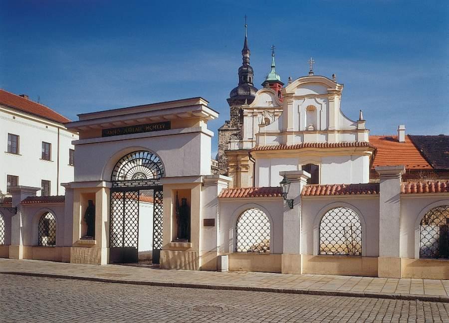 Conoce un monasterio de Pilsen