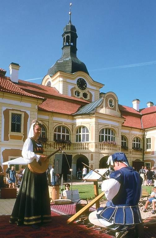 Castillo de Nebílovy al sur de Pilsen