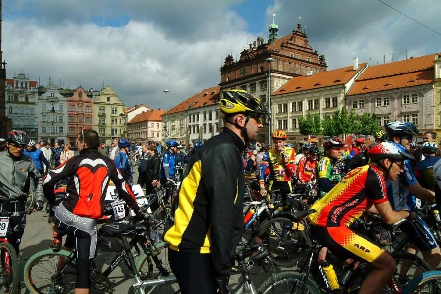 Carrera de ciclismo en Pilsen