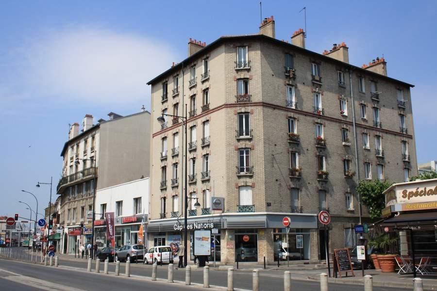 Avenida Général de Gaulle en Champigny-sur-Marne