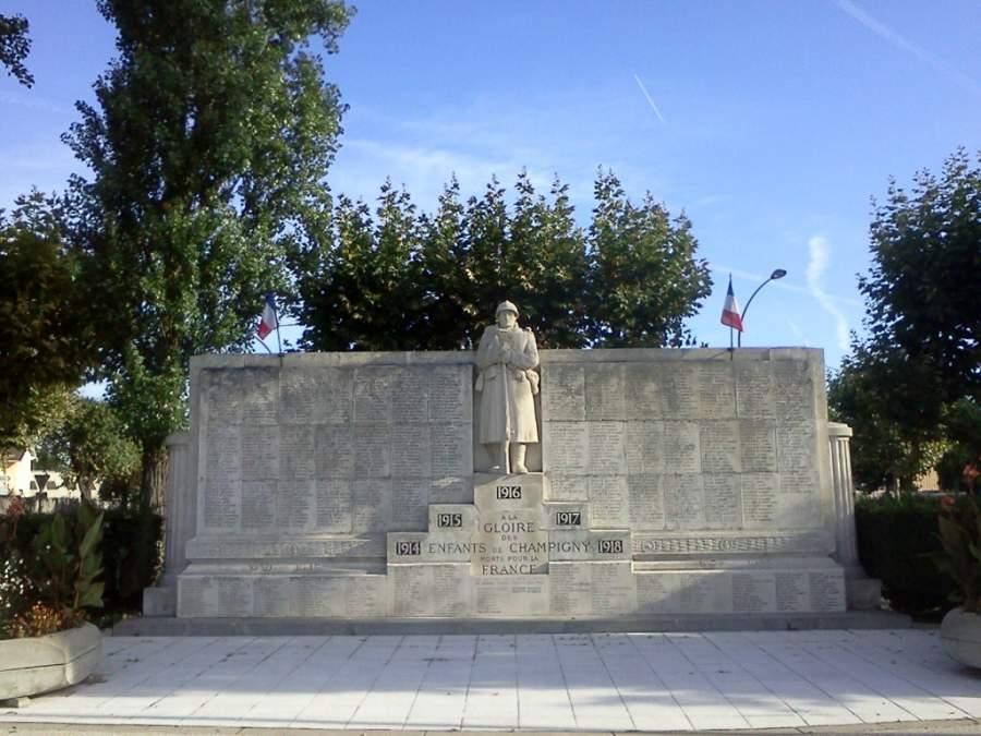 Monumento en Champigny-sur-Marne