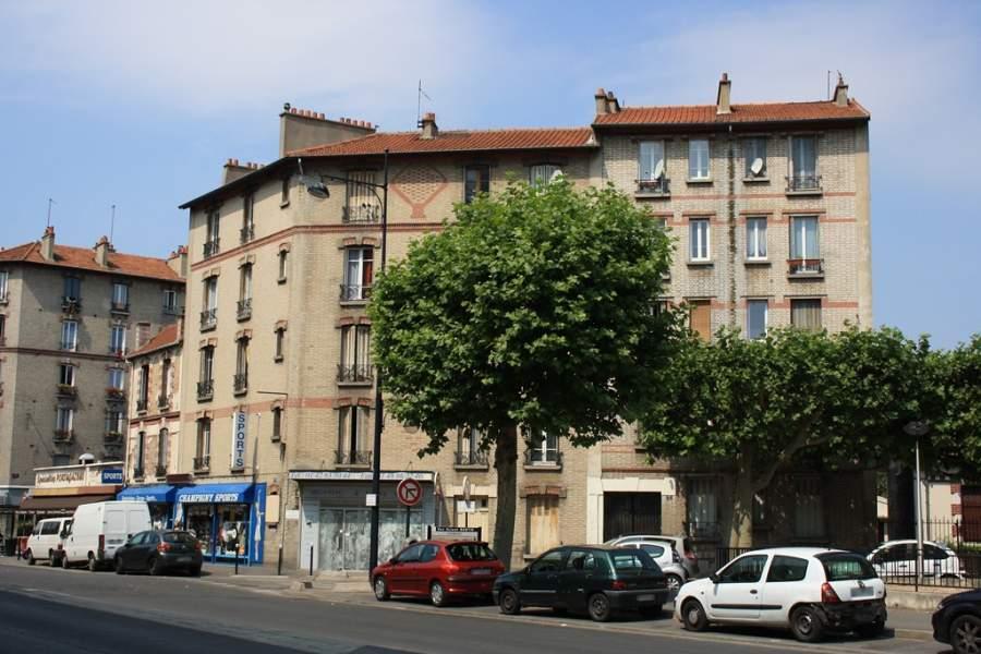 Vista de una calle en Champigny-sur-Marne
