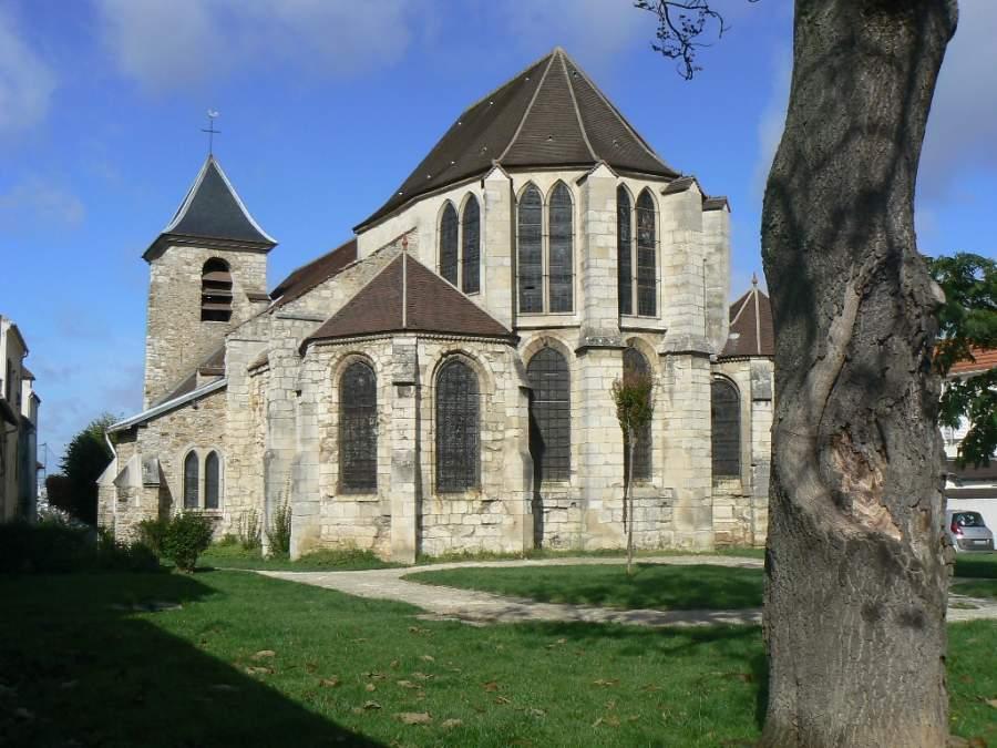 Iglesia Saint-Saturnin en Champigny-sur-Marne