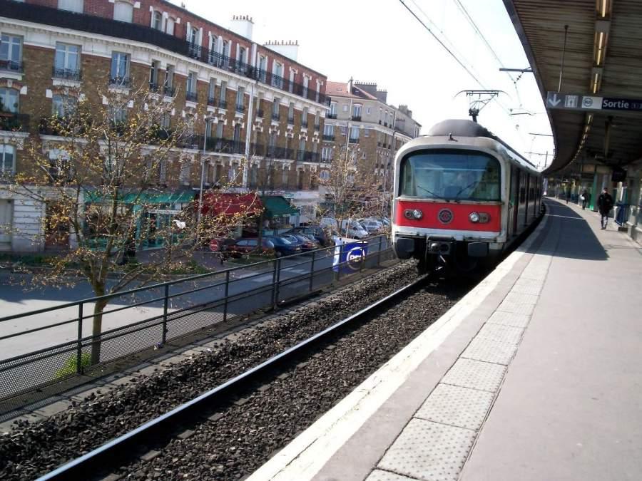 Estación de tren en Champigny-sur-Marne