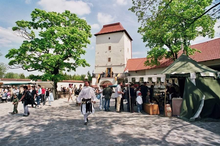 El Castillo de Ostrava-Silesia construido en el siglo XIII