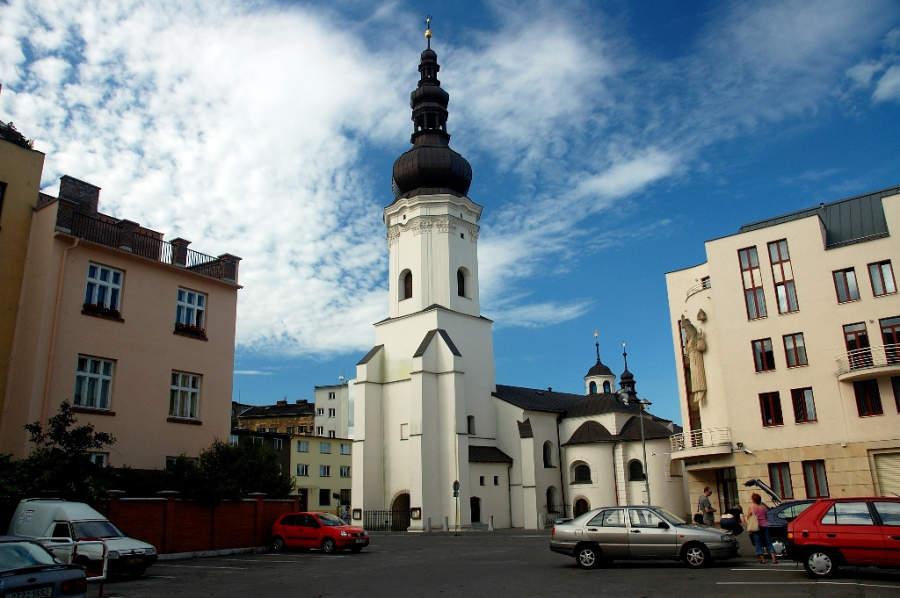 Iglesia de San Wenceslao, el edificio más antiguo de Ostrava