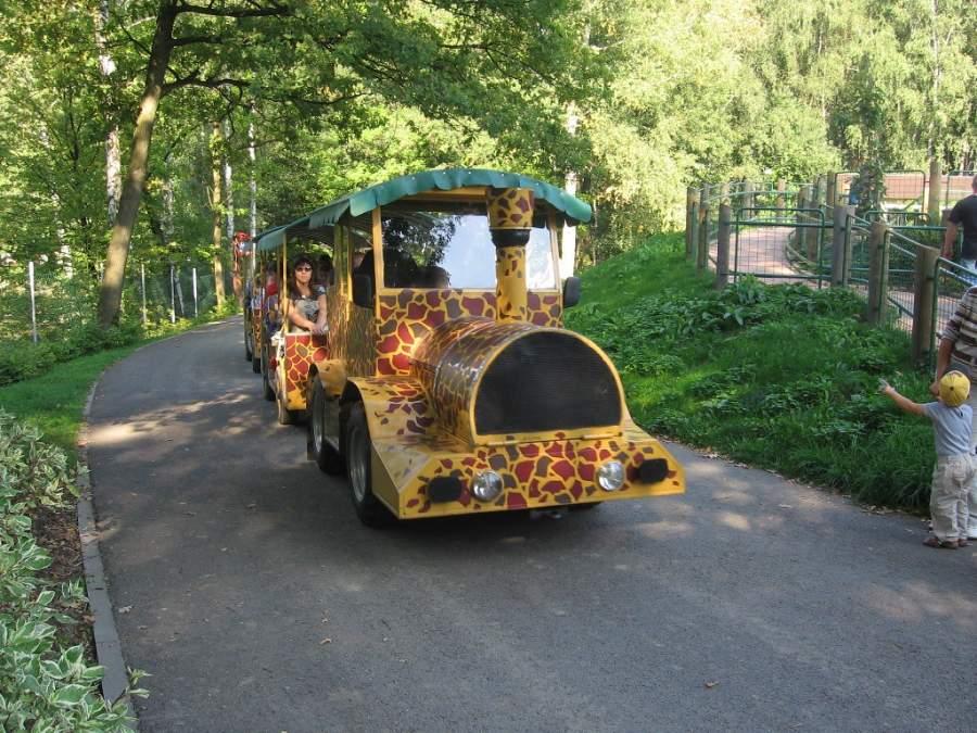 Trenecito en el Zoológico de Ostrava