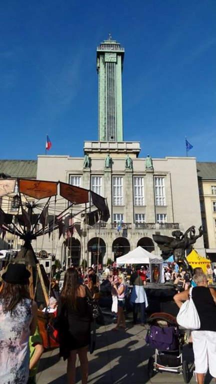 La Torre Panorámica ofrece vistas de Ostrava e incluso de la cercana Polonia