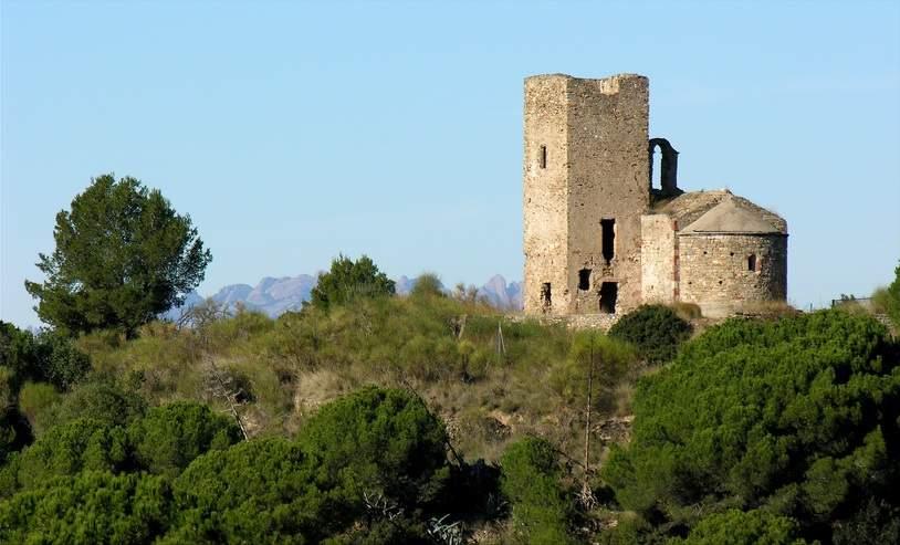 Ermita Sant Per de Romaní en Molins de Rei