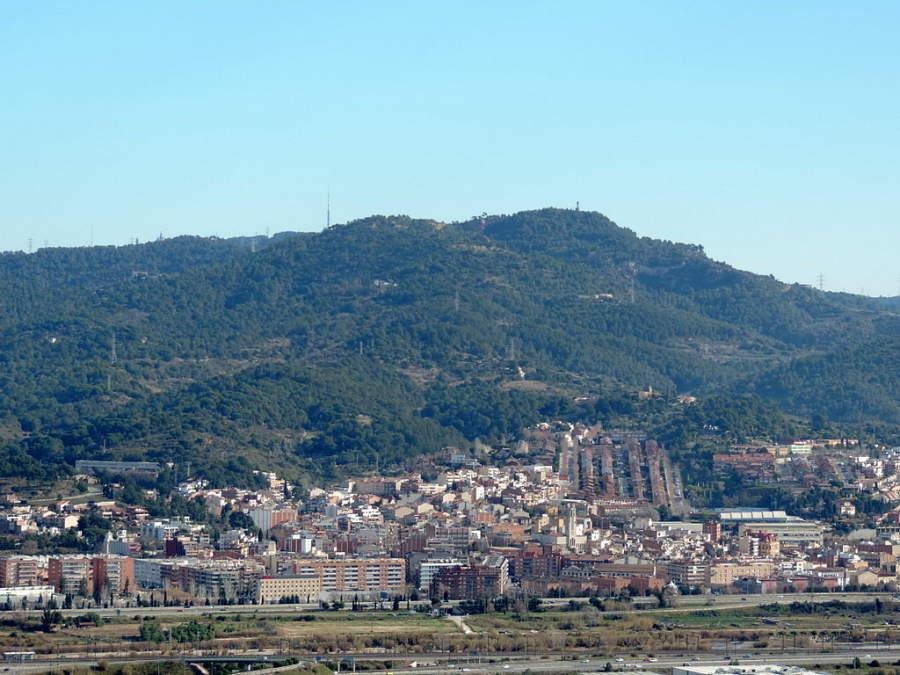 Panorama del poblado Molins de Rei