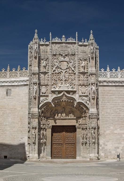 Fachada del Museo Nacional de Escultura