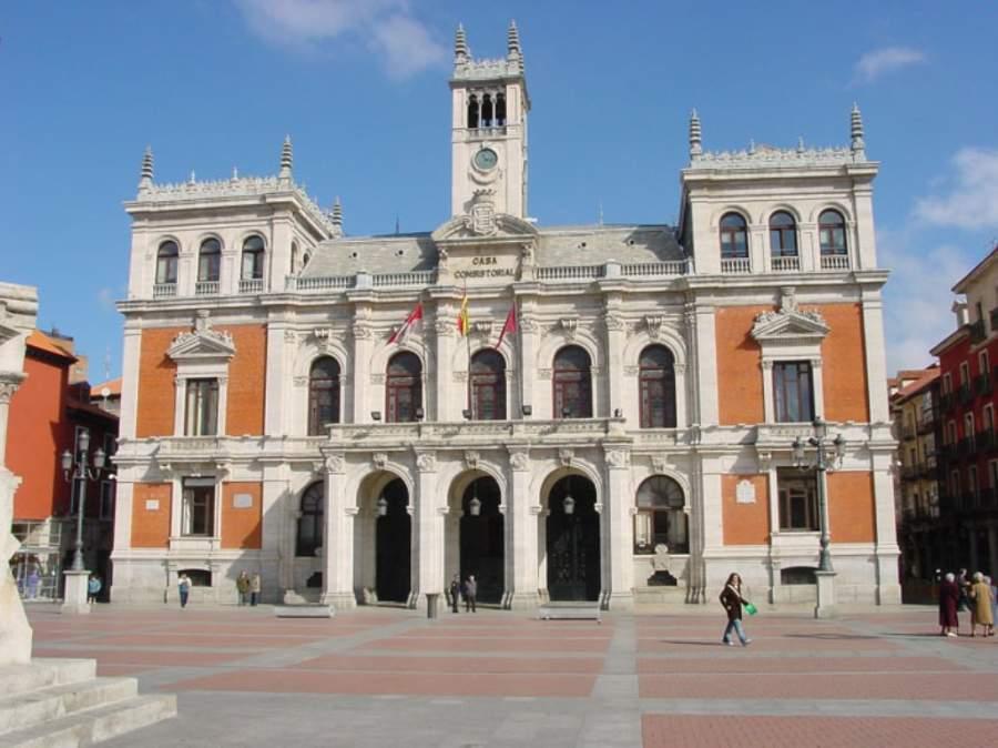 Edificio del Ayuntamiento en la Plaza Mayor de Valladolid