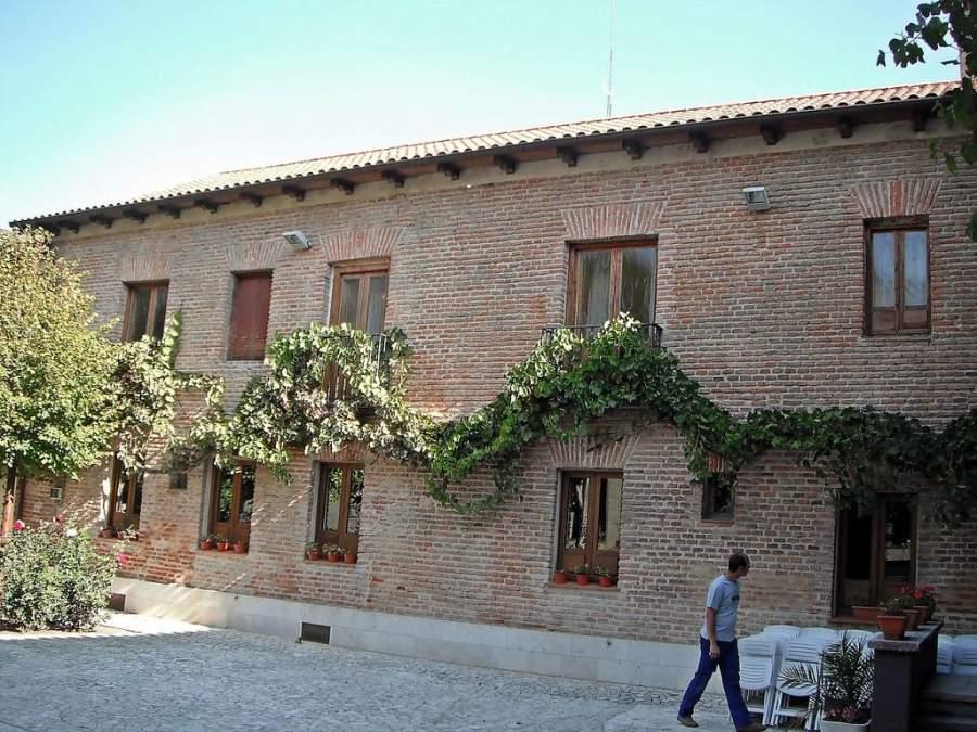 Fachada lateral de la Casa del Poeta José Zorrilla