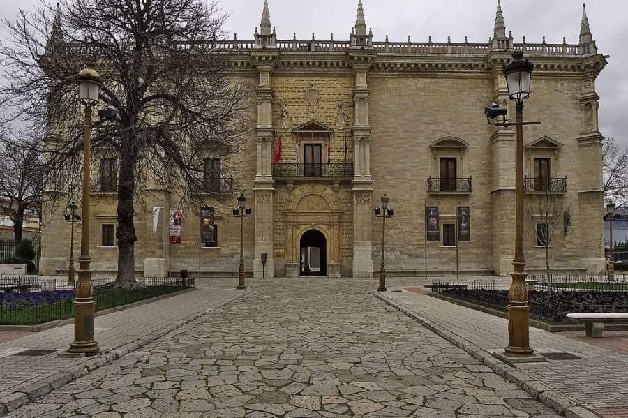 Colegio Mayor Santa Cruz en Valladolid