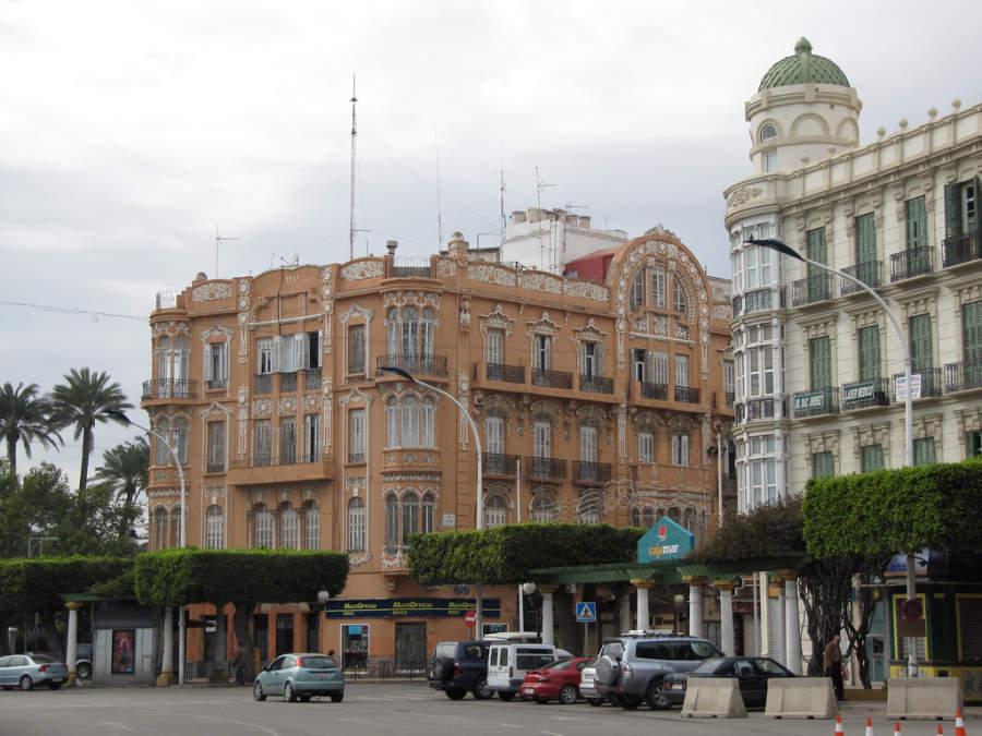 Calles del centro de la ciudad