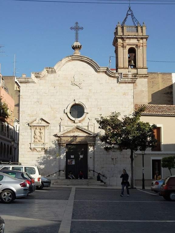 Iglesia de San Pedro en Paterna, construida en el siglo XIV