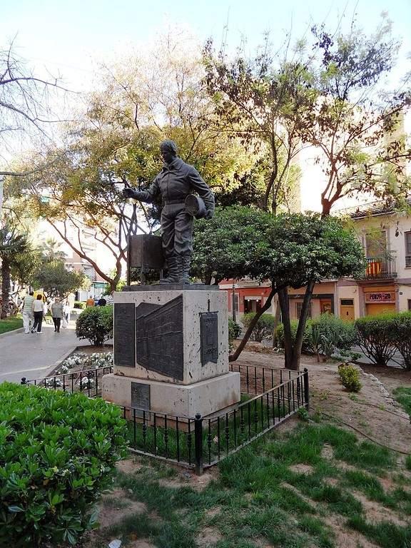 Monumento al Evento La Cordà en Paterna