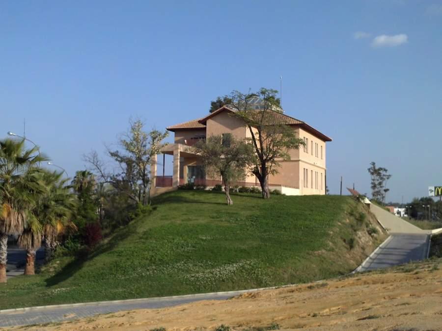 Vista de la Casa de las Minas de Cala en San Juan de Aznalfarache