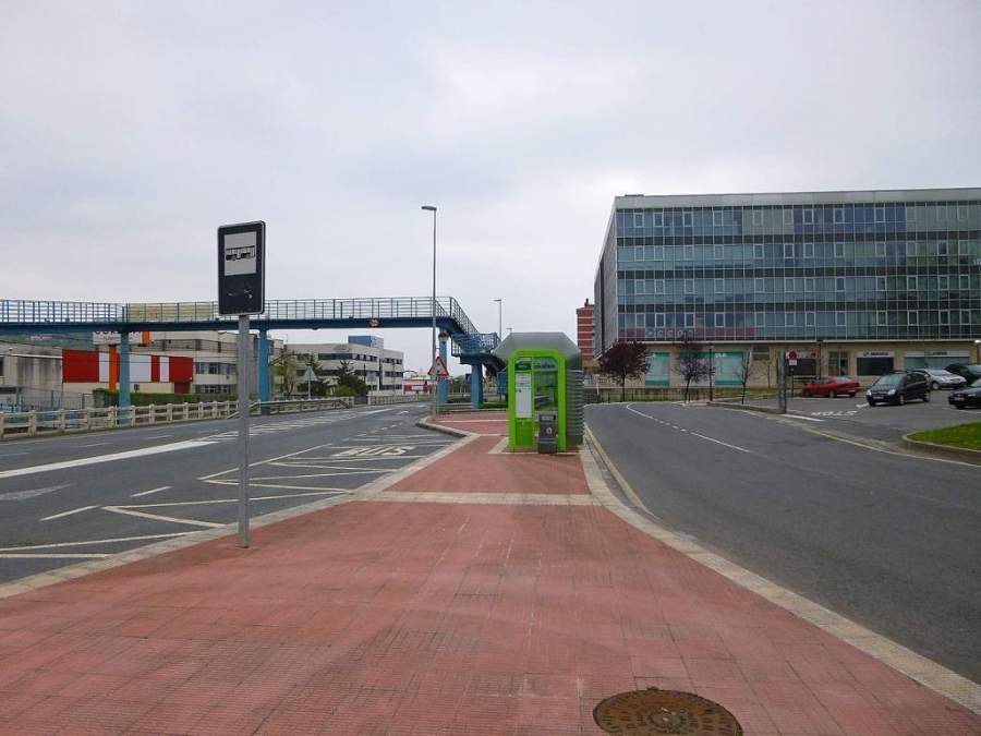 La ciudad de Derio presenta un casco urbano de configuración moderna