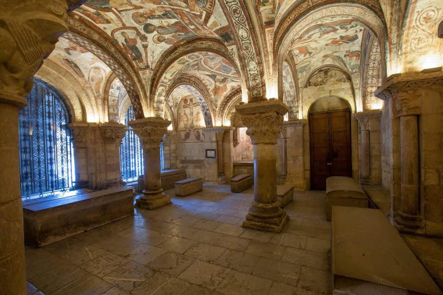 Panteón Real en el interior de la Basílica de San Isidoro