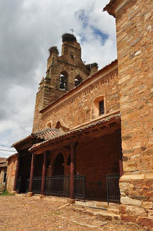 Construcciones en Castrillo de los Polvazares
