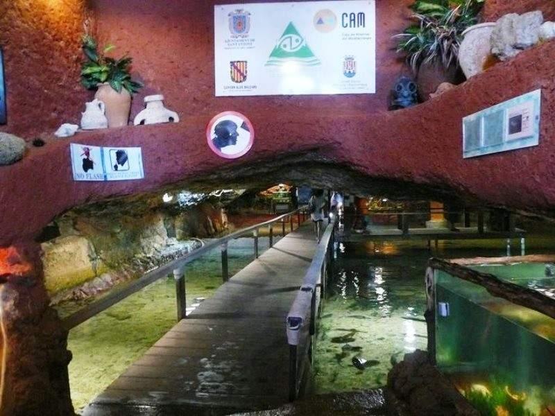 Panorámica del Aquàrium Cap Blanc
