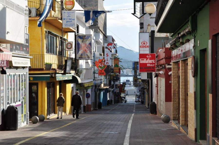 Calles interiores de Sant Antoni