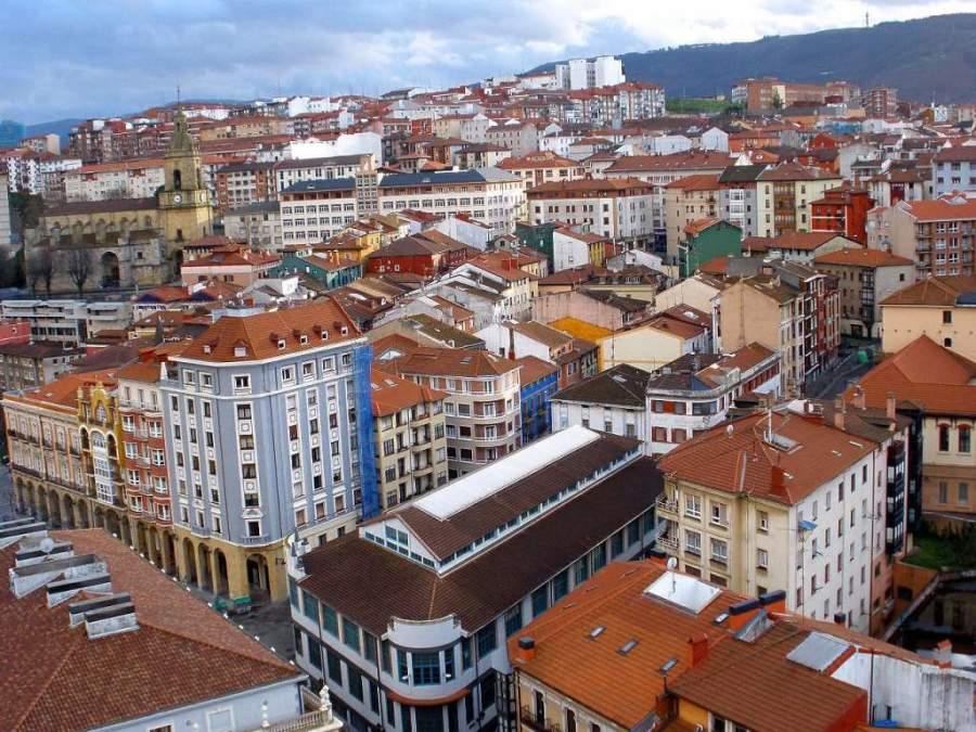 Vista panorámica de Portugalete