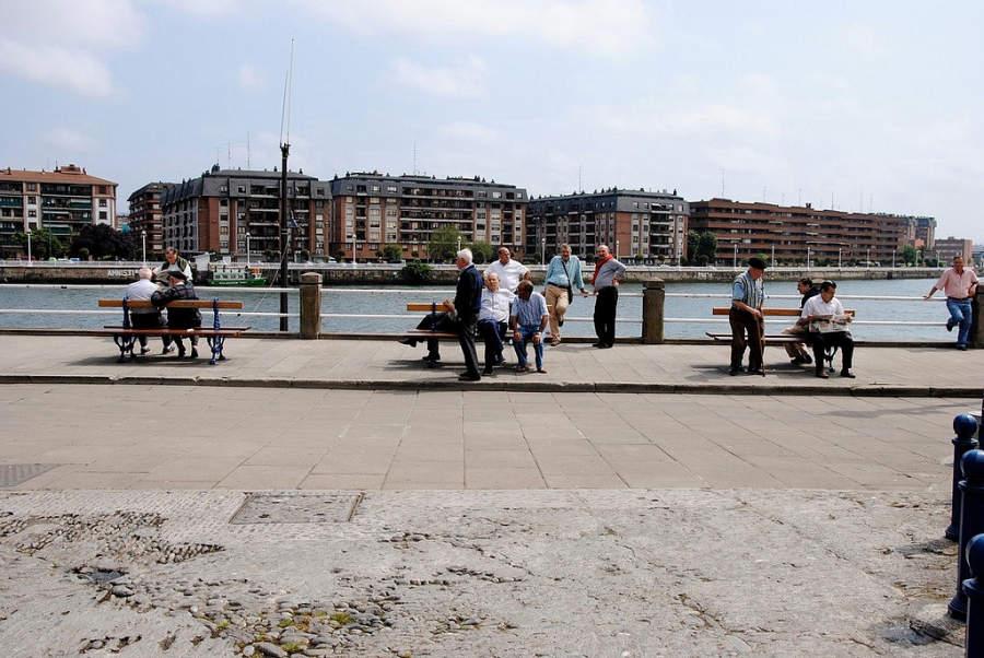 Portugalete está a orillas de la ría de Bilbao
