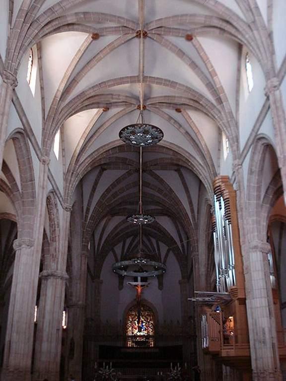 Interior de la Catedral de Alcalá de Henares
