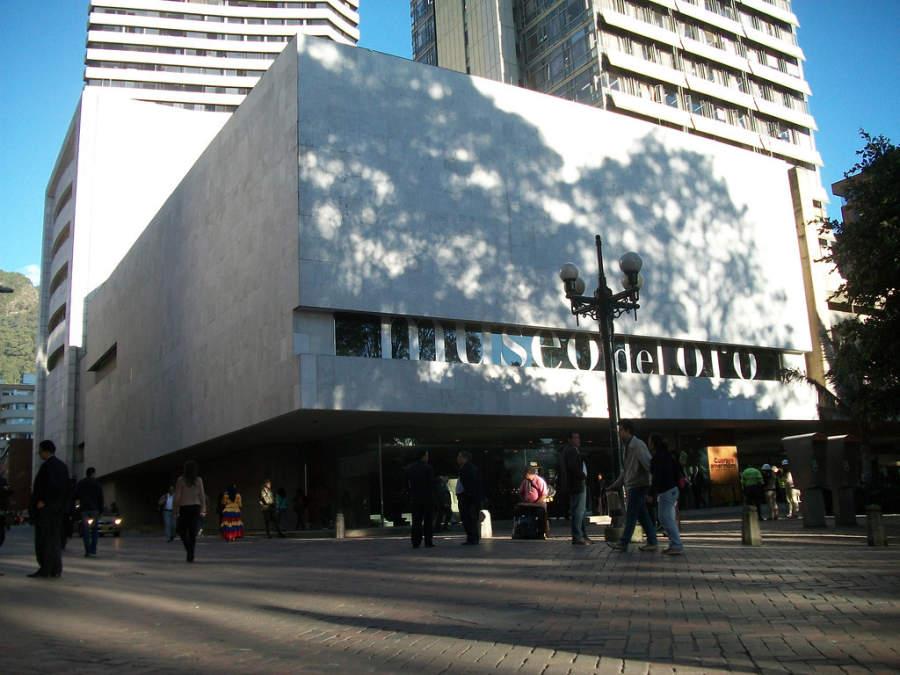Entrada al Museo del Oro