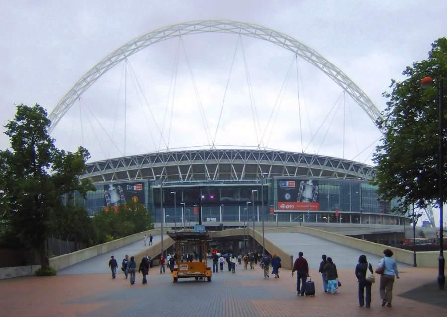El Estadio Wembley es un ícono de la comunidad