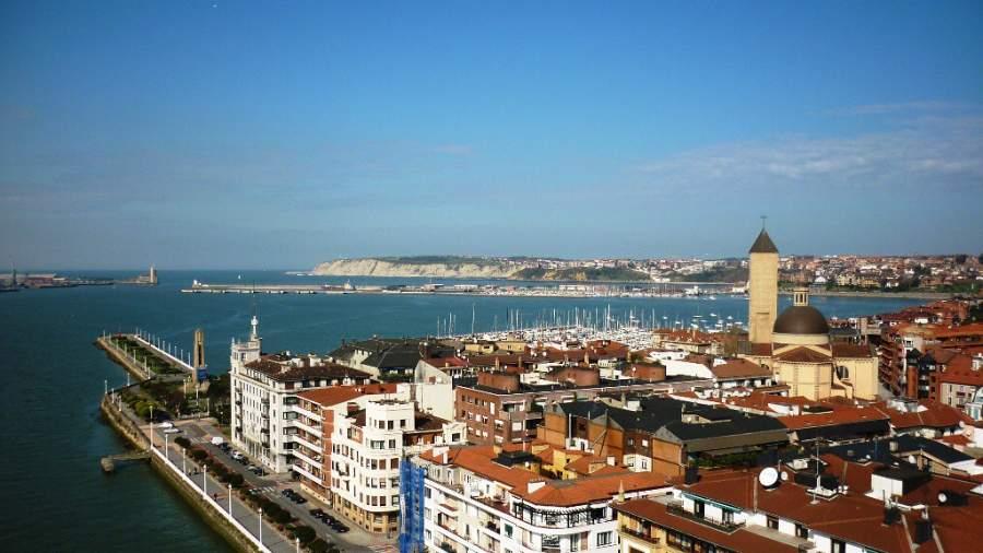 La ciudad de Getxo se encuentra a orillas de la ría de Bilbao