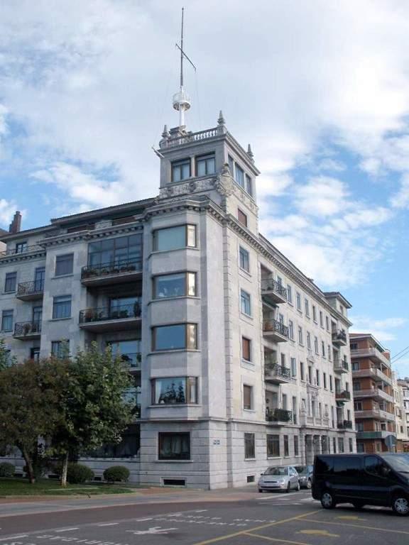 Barrio de Las Arenas en Getxo