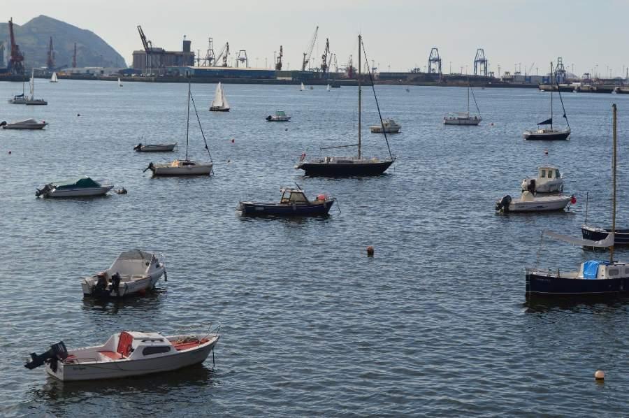 En la ciudad de Getxo puedes realizar pesca