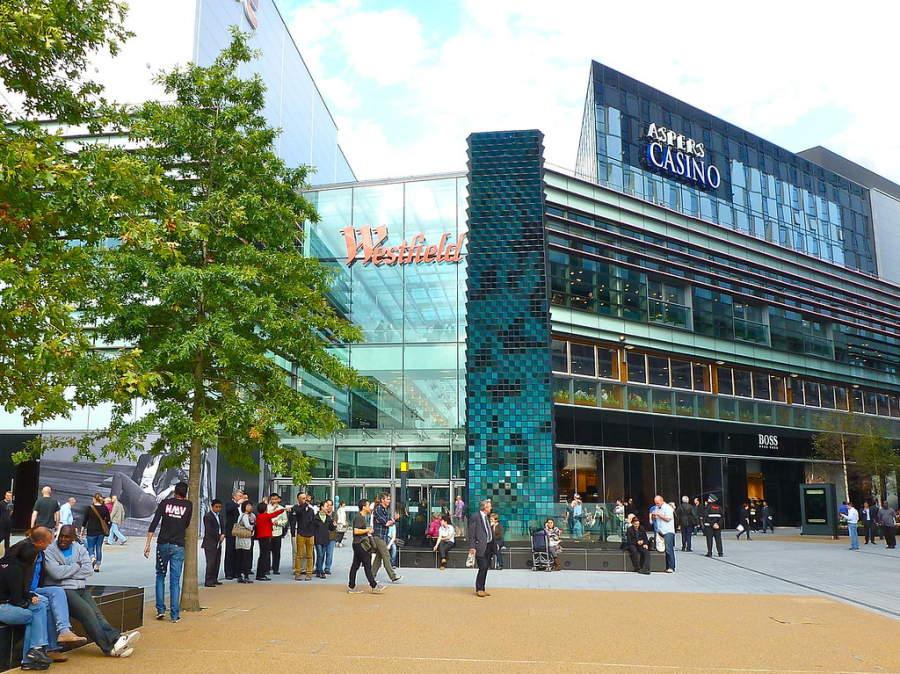 Ve de compras al centro comercial Westfield Stratford City en Stratford