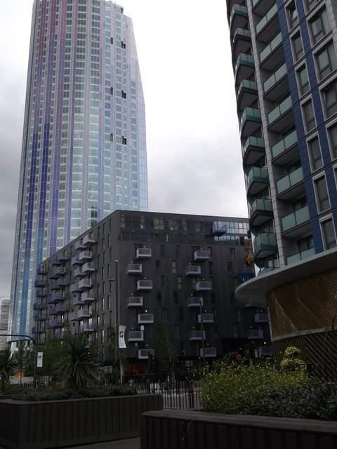 Edificios de la ciudad de Stratford