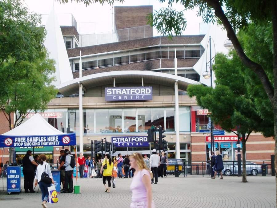 Conoce el centro comercial Stratford Centre