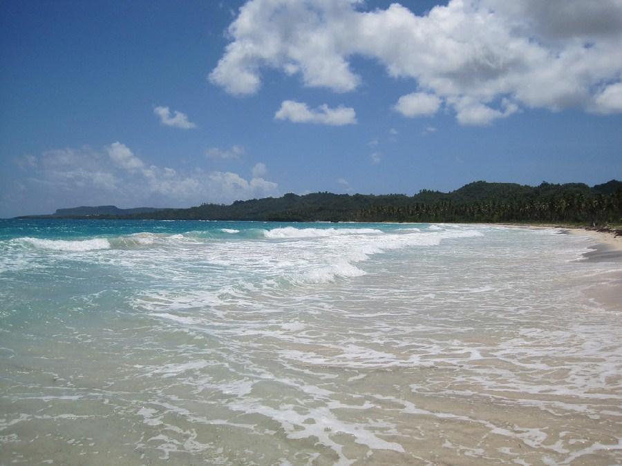 Playa en Samaná