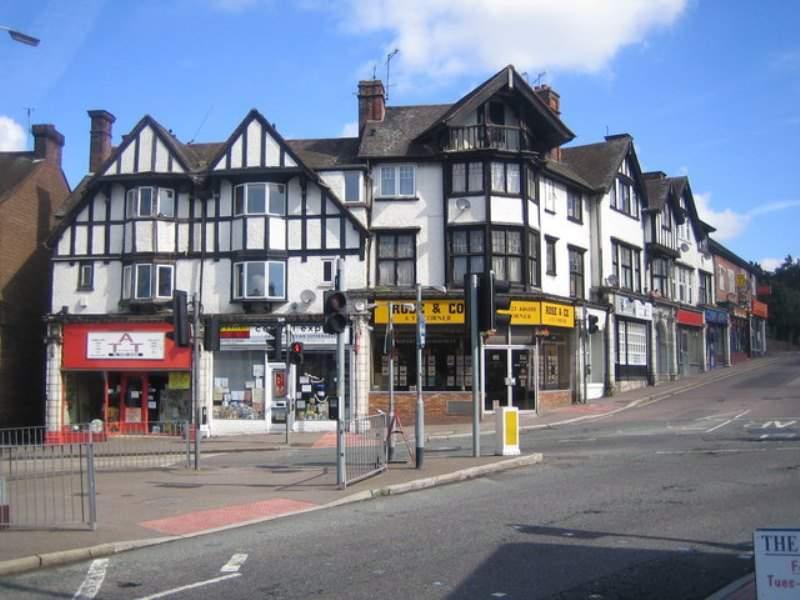 Calle comercial en Watford