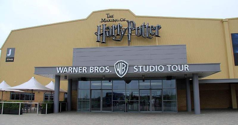 Entrada a los estudios Warner Bros