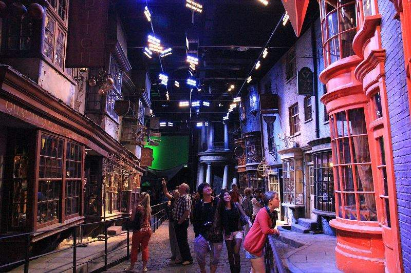Tour The Making of Harry Potter