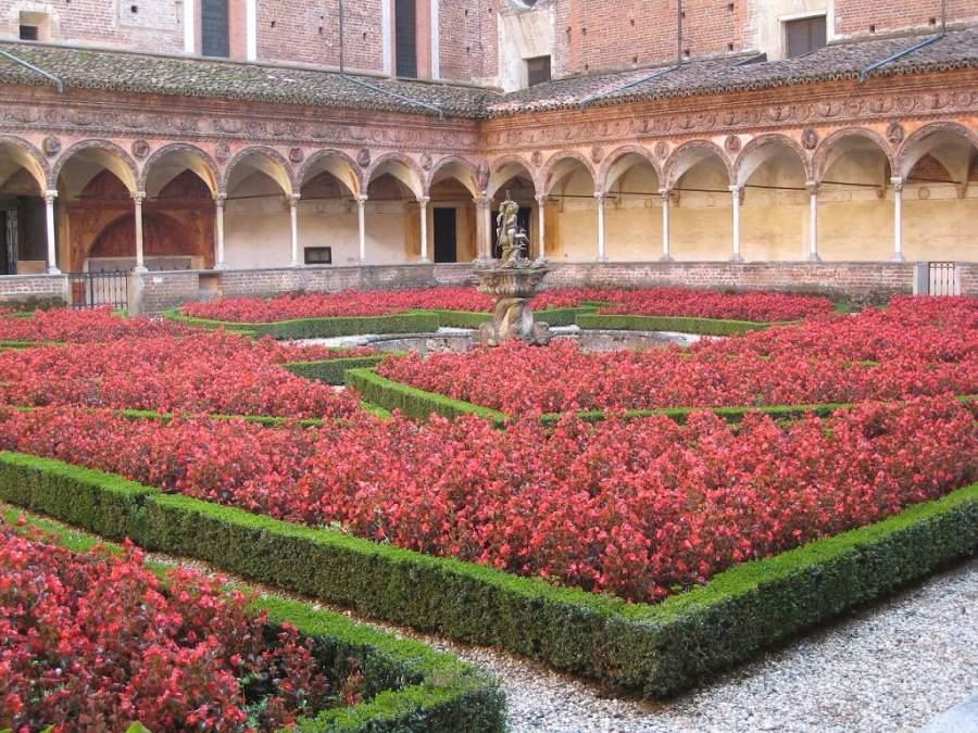 Jardines de la Cartuja de Pavía