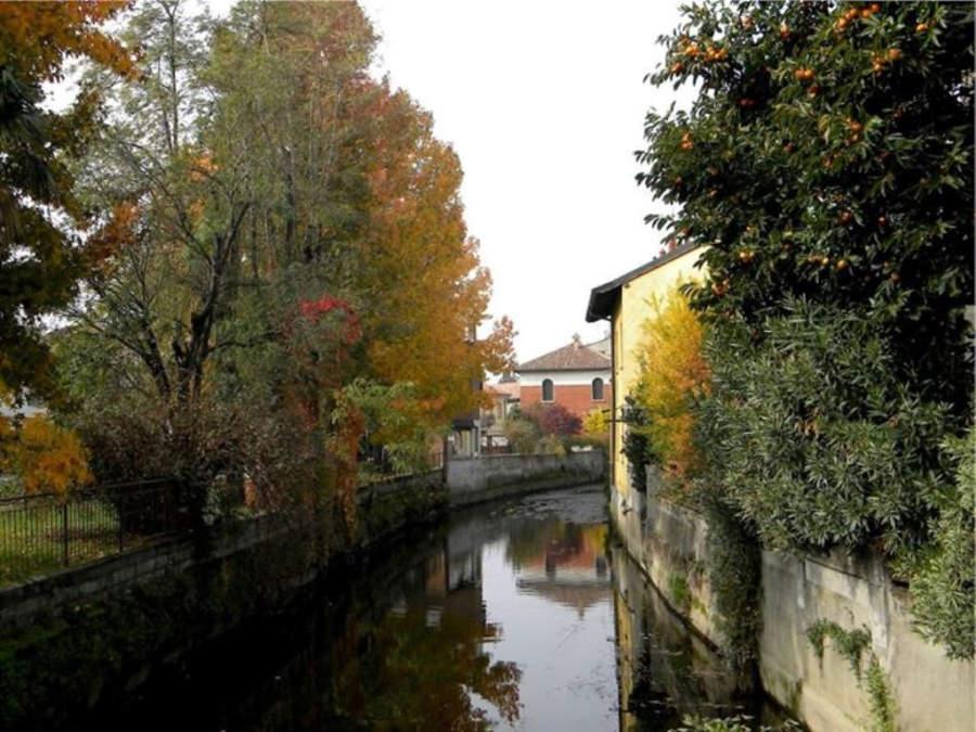 Navigliaccio de Binasco, donde se unen canales y acequias de riego